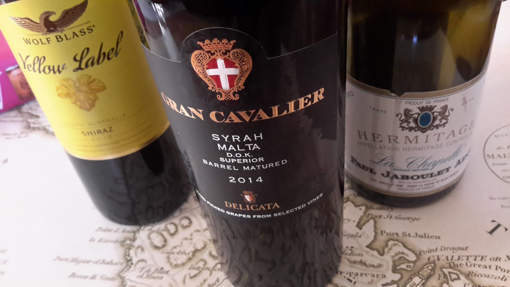 World-class Syrah wine from Malta